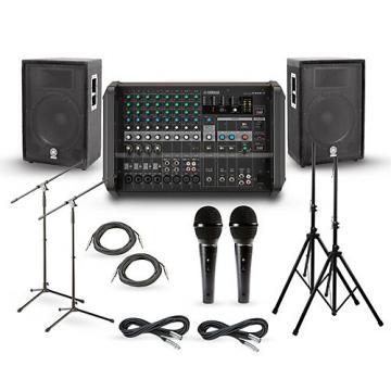 "Yamaha EMX5 with A-Series PA Package 15"" Mains"