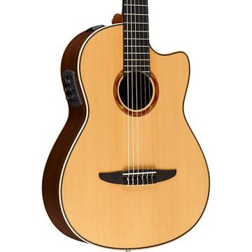 Yamaha NCX2000 Acoustic-Electric Classical Guitar Natural