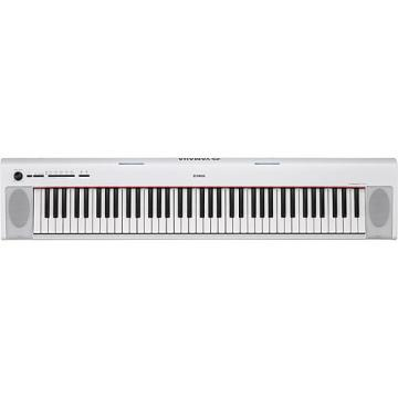 Yamaha NP32 76-Key Piaggero Portable Keyboard White