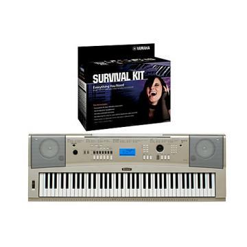 Yamaha YPG-235 76-Key Portable Grand Piano Keyboard with D2 Survival Kit