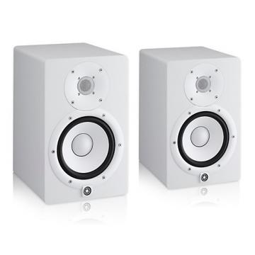 Yamaha HS7 White Powered Studio Monitor Pair