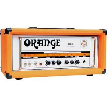 Orange Amplifiers TH30H 30W Tube Guitar Amp Head Orange