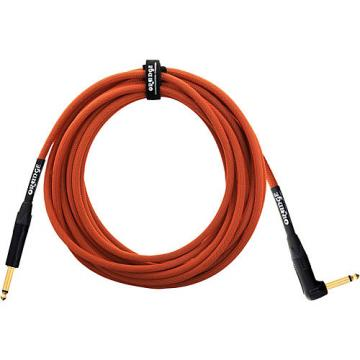 Orange Amplifiers 1/4 Inch Right Angle Instrument Cable Orange 20 ft.