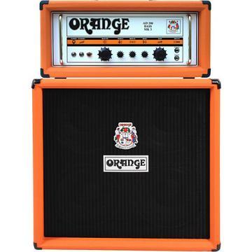 Orange Amplifiers AD Series AD200B 200W Tube Bass Amp Head Orange