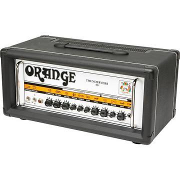 Orange Amplifiers Thunderverb 50 Series TH50HTC 50W Tube Guitar Amp Head Black