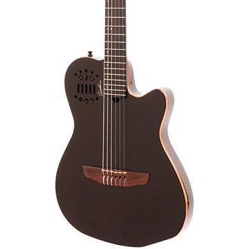 Godin ACS-SA Nylon String Cedar Top Acoustic-Electric Guitar Black Pearl