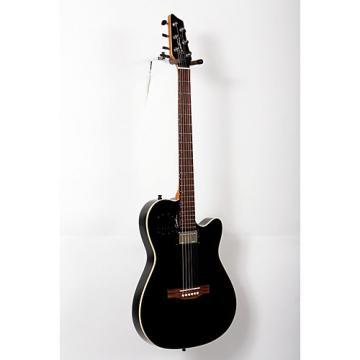 Godin A6 Ultra HG Semi-Acoustic Electric Guitar Black