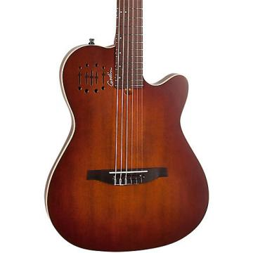 Godin Multiac Encore Nylon String Acoustic-Electric Guitar Burnt Umber