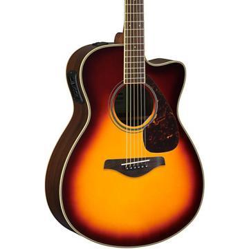 Yamaha FSX830C Acoustic-Electric Guitar Brown Sunburst