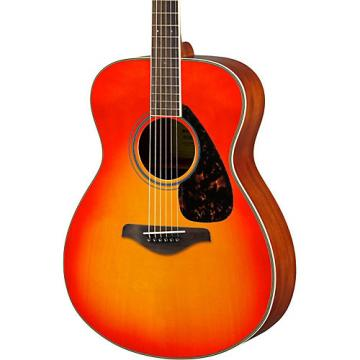 Yamaha FS820 Small Body Acoustic Guitar Autumn Burst