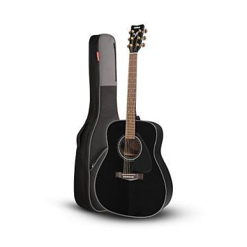 Yamaha Yamaha F335 Acoustic Guitar Black with Road Runner RR1AG  Gig Bag