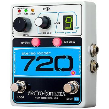 Electro-Harmonix Stereo with 10 Loops & 12 Minutes Recording Time