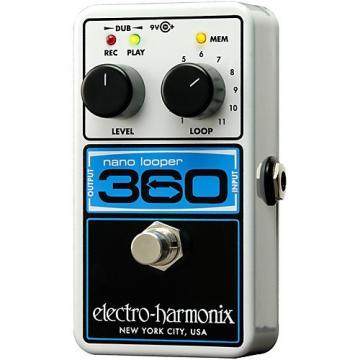 Electro-Harmonix Nano Looper 360 Guitar Effects Pedal