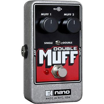 Electro-Harmonix Nano Double Muff Distortion Guitar Effects Pedal