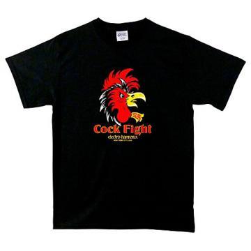 Electro-Harmonix Cock Fight T-Shirt Medium Black