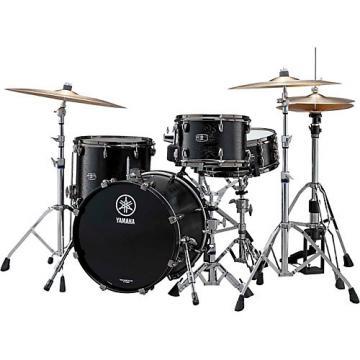 "Yamaha Live Custom 3-Piece Shell Pack with 18"" Bass Drum Black Wood"