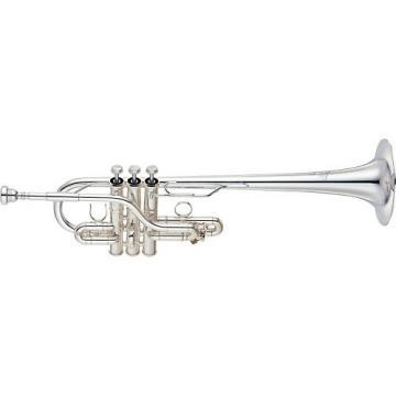 Yamaha YTR-9636 Custom Series Eb / D Trumpet Silver