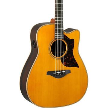 Yamaha A-Series A3R Dreadnought Acoustic-Electric Guitar Vintage Natural