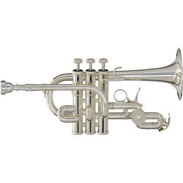 Yamaha YTR-9825 Custom Series Bb / A Piccolo Trumpet Silver