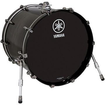 "Yamaha Live Custom 22x18"" Bass Drum Black Shadow Sunburst"