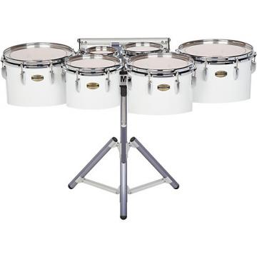 Yamaha 8300 Series Field-Corps Marching Sextet 6, 8, 10, 12, 13, 14 in. White wrap