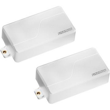 Fishman Fluence Modern Humbucker Set White Plastic White