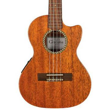 Cordoba 20TM-CE Tenor Cutaway Acoustic-Electric Ukulele Natural