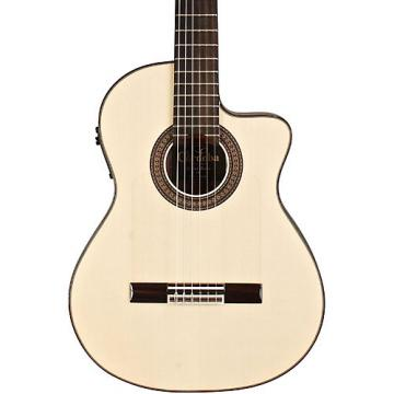 Cordoba 55FCE Flamenco Macassar Ebony Acoustic-Electric Nylon String Flamenco Guitar Natural