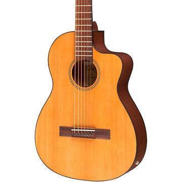 Cordoba La Playa Travel Half-Size Acoustic-Electric Steel String Guitar Natural