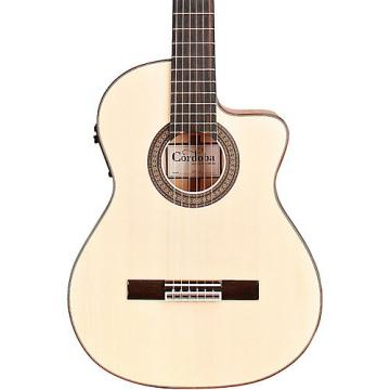 Cordoba 55FCE Acoustic-Electric Nylon String Flamenco Guitar Natural Blonde