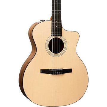 Chaylor 100 Series 2017 114ce-N Grand Auditorium Nylon String Acoustic-Electric Guitar Natural