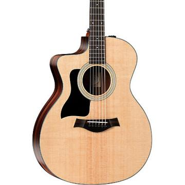 Chaylor 100 Series 114ce Rosewood Grand Auditorium Left-Handed Acoustic-Electric Guitar Natural