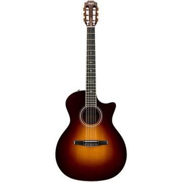 Chaylor 700 Series 2014 714CE-N Grand Auditorium Acoustic-Electric Nylon String Guitar Vintage Sunburst
