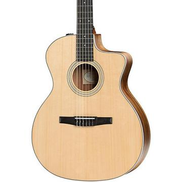 Chaylor 200 Series 2017 214ce-N Grand Auditorium Nylon String Acoustic-Electric Guitar Natural