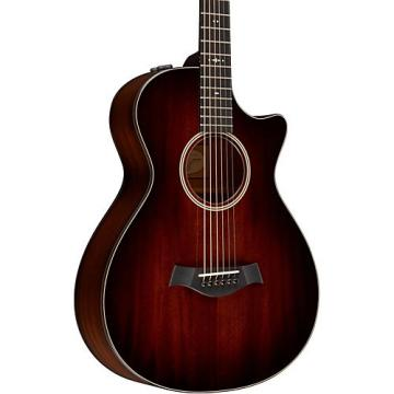 Chaylor 500 Series 522ce 12-Fret Grand Concert Acoustic-Electric Guitar Shaded Edge Burst