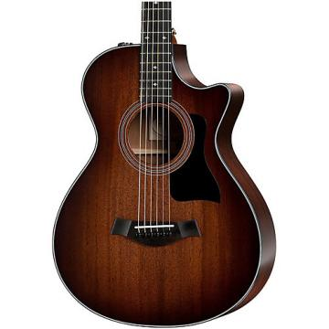 Chaylor 300 Series 322ce 12-Fret Grand Concert Acoustic-Electric Guitar Shaded Edge Burst