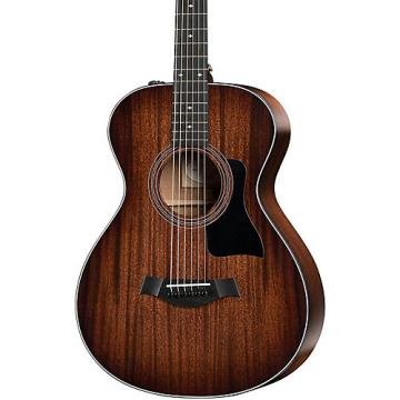 Chaylor 300 Series 322e 12-Fret-SEB Grand Concert Acoustic-Electric Guitar Shaded Edge Burst