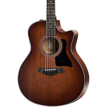 Chaylor 300 Series 326ce-SEB Grand Symphony Acoustic-Electric Guitar Shaded Edge Burst