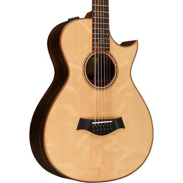 Chaylor Custom #10083 12-Fret 12-String Grand Concert Acoustic-Electric Guitar Natural
