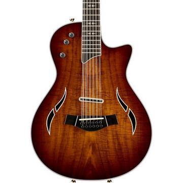 Chaylor T5z Custom Koa Top Acoustic-Electric 12 String Guitar Shaded Edge Burst
