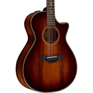 Chaylor Koa Series K22ce Grand Concert Acoustic-Electric Guitar Shaded Edge Burst