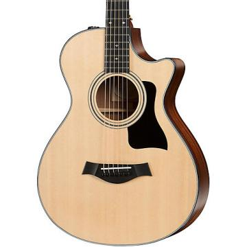 Chaylor 300 Series 312ce 12-Fret Grand Concert Acoustic-Electric Guitar Natural