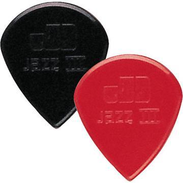 Dunlop Nylon Jazz III Guitar Pick Black 6-Pack