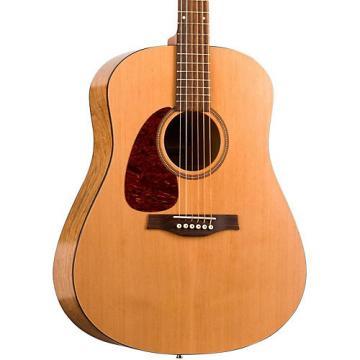 Seagull S6 Original Left-Handed QI Acoustic-Electric Guitar Natural