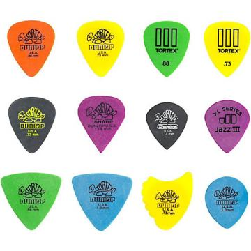 Dunlop PVP110 Pick Tortex Variety 12 Pack