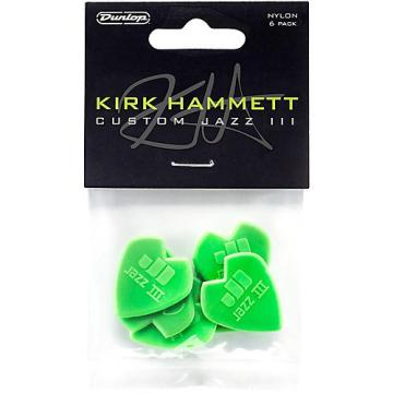 Dunlop Kirk Hammett Jazz Guitar Picks 6 Pack