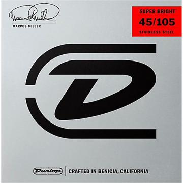 Dunlop Marcus Miller Super Bright Electric Bass Strings (45-105)