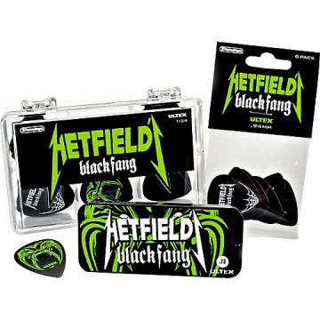 Dunlop Hetfield Black Fang Pick Tin - 6 Pack  .73 mm