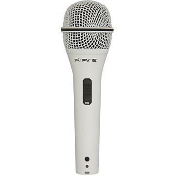 Peavey PVi 2G 1/4 Dynamic Handheld Microphone White