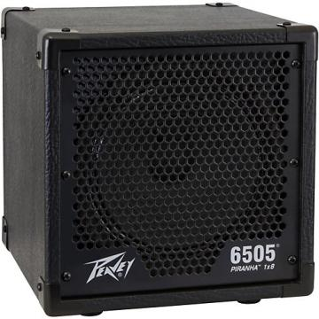 Peavey 6505 Piranha 1X8 Guitar Amplifier Cabinet Black